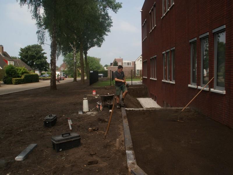 Projecten edwin melis tuintechniek - Aanleg van groenvoorzieningen idee ...